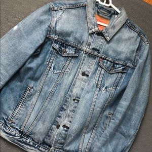 Levis denim trucker jacket